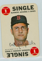 1968 Topps Game 3 Carl Yastrzemski Boston Red Sox Very Good to Excellent