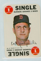 1968 Topps Game 3 Carl Yastrzemski Boston Red Sox Near-Mint Plus