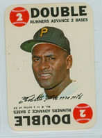 1968 Topps Game 6 Roberto Clemente Pittsburgh Pirates Excellent to Mint