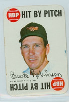 1968 Topps Game 9 Brooks Robinson Baltimore Orioles Good to Very Good