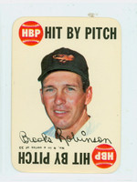 1968 Topps Game 9 Brooks Robinson Baltimore Orioles Excellent