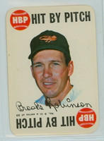 1968 Topps Game 9 Brooks Robinson Baltimore Orioles Near-Mint Plus