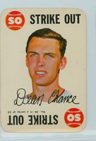 1968 Topps Game 16 Dean Chance Minnesota Twins Very Good