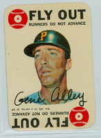 1968 Topps Game 25 Gene Alley Pittsburgh Pirates Very Good to Excellent