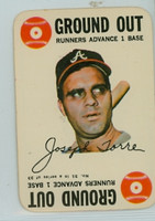 1968 Topps Game 31 Joe Torre Atlanta Braves Excellent to Mint