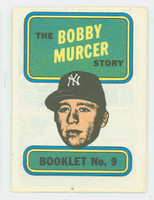 1970 Topps Story Booklets 9 Bobby Murcer New York Yankees Fair to Good