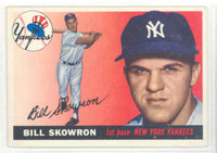 1955 Topps Baseball 22 Bill Skowron New York Yankees Excellent