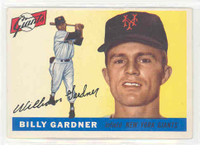 1955 Topps Baseball 27 Billy Gardner New York Giants Excellent
