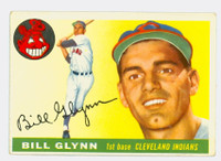 1955 Topps Baseball 39 Bill Glynn Cleveland Indians Excellent