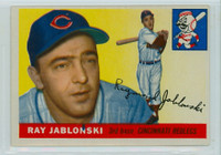 1955 Topps Baseball 56 Ray Jablonski Chicago Cubs Very Good