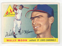 1955 Topps Baseball 67 Wally Moon St. Louis Cardinals Excellent to Mint