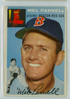 1954 Topps Baseball 40 Mel Parnell Boston Red Sox Very Good to Excellent