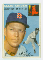 1954 Topps Baseball 47 Ellis Kinder Boston Red Sox Very Good to Excellent
