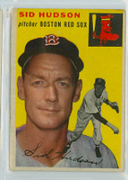 1954 Topps Baseball 93 Sid Hudson Boston Red Sox Very Good to Excellent