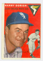 1954 Topps Baseball 110 Harry Dorish Chicago White Sox Good to Very Good