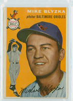 1954 Topps Baseball 152 Mike Blyzka Baltimore Orioles Near-Mint