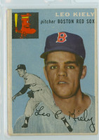 1954 Topps Baseball 171 Leo Kiely Boston Red Sox Very Good to Excellent