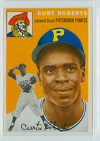 1954 Topps Baseball 242 Curt Roberts Pittsburgh Pirates Excellent