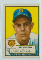 1952 Topps Baseball 238 Art Houtteman Detroit Tigers Very Good