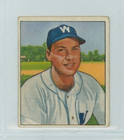 1950 Bowman Baseball 53 Clyde Vollmer Washington Senators Very Good
