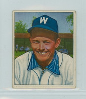 1950 Bowman Baseball 54 Gil Coan Washington Senators Very Good