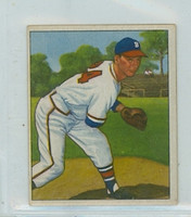1950 Bowman Baseball 57 Vernon Bickford Boston Braves Very Good