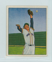 1950 Bowman Baseball 82 Whitey Lockman New York Giants Excellent