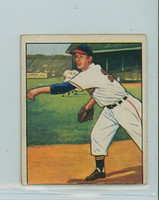 1950 Bowman Baseball 182 Sam Zoldak Cleveland Indians Very Good
