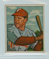 1950 Bowman Baseball 228 Bill Nicholson Philadelphia Phillies Excellent