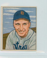 1950 Bowman Baseball 242 Dick Kryhoski Detroit Tigers Very Good to Excellent
