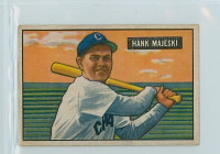 1951 Bowman Baseball 12 Hank Majeski Chicago White Sox Very Good to Excellent