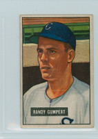1951 Bowman Baseball 59 Randy Gumpert Chicago White Sox Very Good