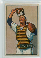 1951 Bowman Baseball 82 Joe Tipton Philadelphia Athletics Excellent