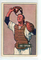 1951 Bowman Baseball 82 Joe Tipton Philadelphia Athletics Excellent to Excellent Plus