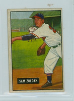 1951 Bowman Baseball 114 Sam Zoldak Philadelphia Athletics Very Good to Excellent