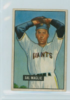 1951 Bowman Baseball 127 Sal Maglie ROOKIE New York Giants Excellent to Mint