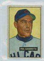 1951 Bowman Baseball 138 Phil Cavarretta Chicago Cubs Very Good to Excellent