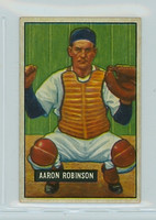1951 Bowman Baseball 142 Aaron Robinson Detroit Tigers Very Good