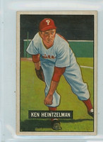 1951 Bowman Baseball 147 Ken Heintzelman Philadelphia Phillies Very Good