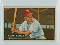 1951 Bowman Baseball 148 Granny Hamner Philadelphia Phillies Very Good