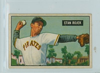1951 Bowman Baseball 166 Stan Rojek St. Louis Cardinals Very Good to Excellent