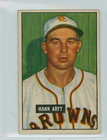 1951 Bowman Baseball 173 Hank Arft St. Louis Browns Good to Very Good