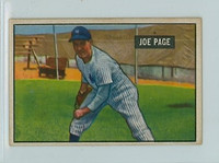 1951 Bowman Baseball 217 Joe Page New York Yankees Good to Very Good