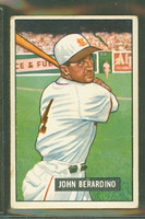1951 Bowman Baseball 245 John Berardino St. Louis Browns Good to Very Good