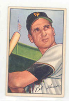 1952 Bowman Baseball 2 Bobby Thomson New York Giants Excellent