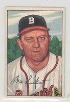 1952 Bowman Baseball 12 Max Surkont Boston Braves Excellent