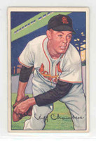 1952 Bowman Baseball 14 Cliff Chambers St. Louis Cardinals Excellent