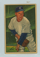 1952 Bowman Baseball 17 Ed Lopat New York Yankees Very Good to Excellent