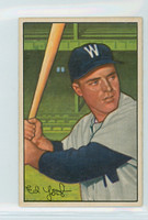 1952 Bowman Baseball 31 Eddie Yost Washington Senators Excellent