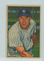 1952 Bowman Baseball 37 Vic Raschi New York Yankees Excellent